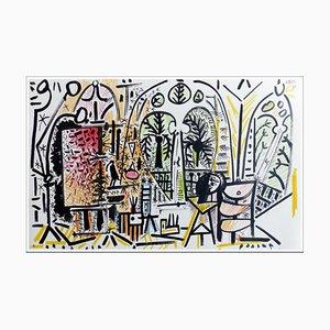 Pablo Picasso (after) , Cahier De La Californie Iv, 1959 , Lithograph