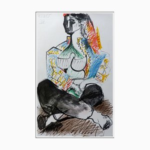 Pablo Picasso (nach), Cahier De La Californie V, 1959, Lithographie