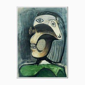 Pablo Picasso (nachher), Porträt Dora Maar II, 1954, Lithographie