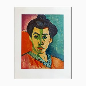 Henri Matisse (after) , Portrait of Amélie Matisse, 1954 , Lithograph