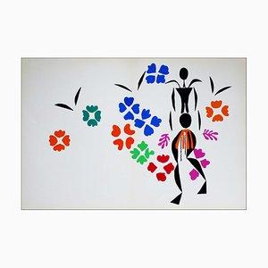 Litografia Henri Matisse (d'après), La Négresse