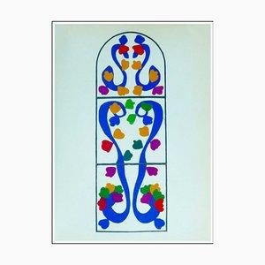 Henri Matisse (d'après) , Lierre, 1958 , lithograph