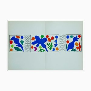 Henri Matisse (d'après) , Coquelicots, 1958 , lithograph