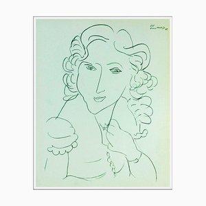Henri Matisse (d'après) , Elégante, 1943 , lithograph
