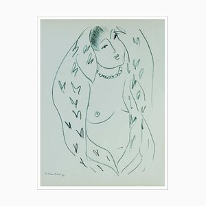 Henri Matisse (after) , Women With a Bare Breast Ii , Lithograph