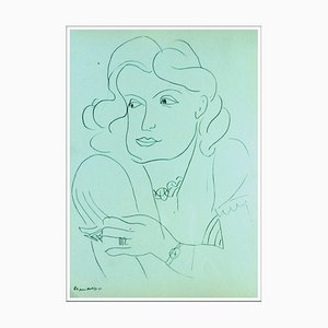 Henri Matisse (after) , the Fortune Teller, 1943 , Lithograph