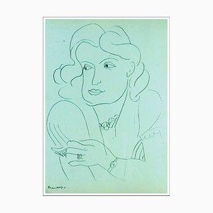 Henri Matisse (nach), der Wahrsager, 1943, Lithographie