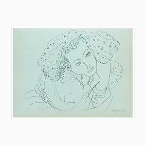 Henri Matisse (d'après), Le Regard, Lithographie