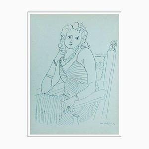 Henri Matisse (d'après) , La Dilettante , lithograph