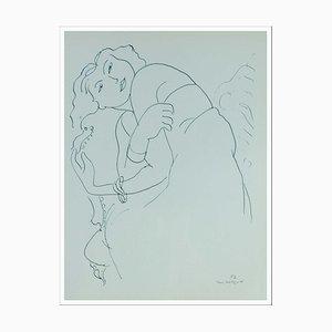 Henri Matisse (d'après) , La Langoureuse , lithograph