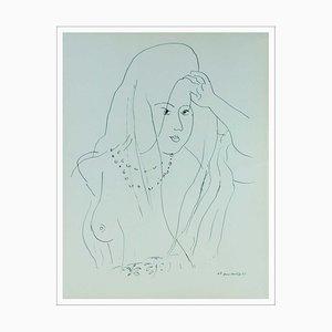 Henri Matisse (d'après), Belle Au Seine Dénudé, Lithographie