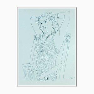 Henri Matisse (d'après) , La Gracieuse , lithograph