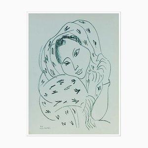 Henri Matisse (d'après) , Portrait , lithograph