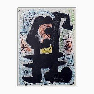 Joan Miro (d'après) , Composition Ii, 1967 , lithograph