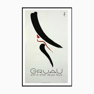 René Gruau , Elegant Woman, 1992 , Lithographic Poster