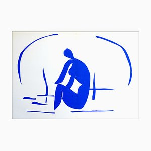Henri Matisse (d'après) , Baigneuse Dans Les Roseaux, 1958 , lithograph