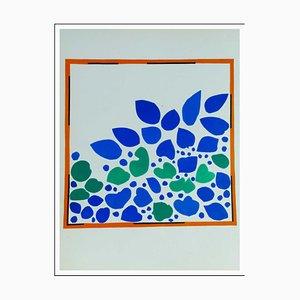 Henri Matisse (d'après) , Le Lierre, 1958 , lithograph