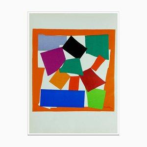 Henri Matisse (d'après) , L'escargot, 1958 , lithograph