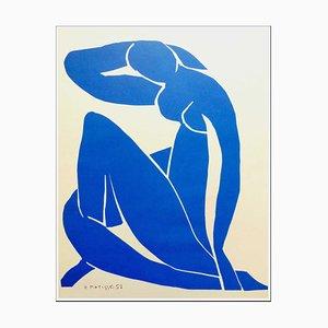 Henri Matisse (after) , Nu Bleu Ii, 1958 , Lithograph