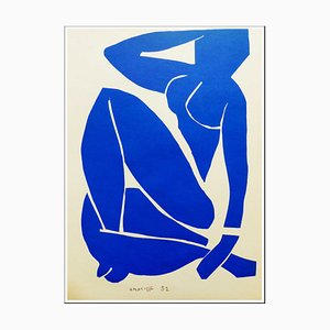 Henri Matisse (after) , Blue Nude Iii, 1958 , Lithograph