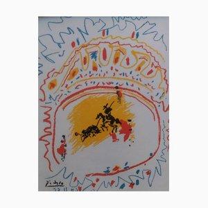 Lithographie Pablo Picasso, La Petite Corrida, 1958