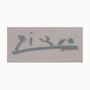 Pablo Picasso (nachher), Liegender Akt, Lithographie