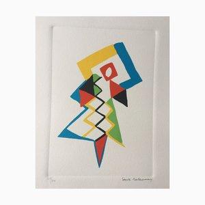 Sonia Delaunay , Jazz , Lithograph