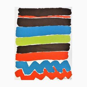 Sonia Delaunay (d'après), Tapisseries De Sonia Delaunay, Affiche Lithographique