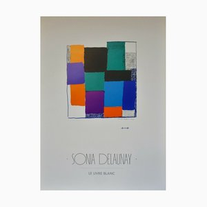 Sonia Delaunay , the White Horse, 1987 , Poster