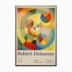 Robert Delaunay, Exposition À L'orangerie, 1976, Póster original