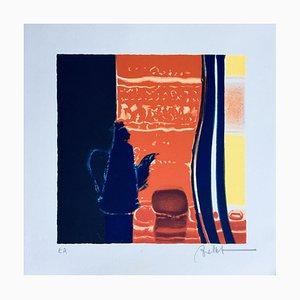 Emile Bellet, Stillleben, Lithographie