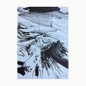Raymond Moretti , Massada I, 1982, Original Signed Lithograph