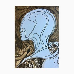 Raymond Moretti , Massada Ii, 1982 , Originl Hand Signed Lithograph