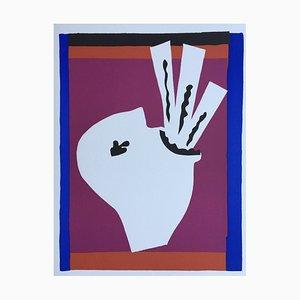 Henri Matisse, L'avaleur de sabers, 1947, Litografía