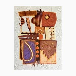 Alain Soucasse , Mestizo Me Viii, Original Signed Engraving