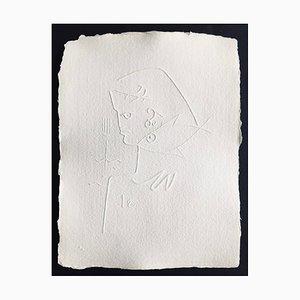 Jean Cocteau (nachher), Ohne Titel I, 1960, Prägung