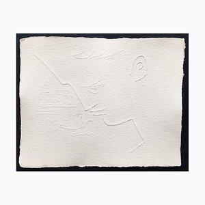 Jean Cocteau (nachher), Ohne Titel II, 1960, Prägung