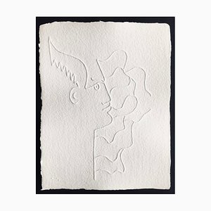 Jean Cocteau (after) , Untitled Vii, 1960 , Embossing