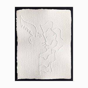 Jean Cocteau (nachher), Ohne Titel Vii, 1960, Prägung