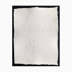 Jean Cocteau (after) , Untitled X, 1957 , Signed Embossing