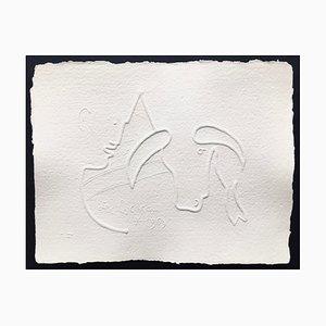 Jean Cocteau (nachher), Ohne Titel Xiii, 1961, Signierte Prägung