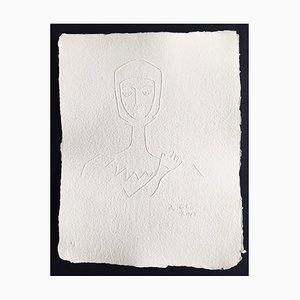 Jean Cocteau (nachher), Ohne Titel Xvii, 1960, Signierte Prägung