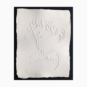 Jean Cocteau (after) , Untitled Xviii, 1960 , Signed Embossing