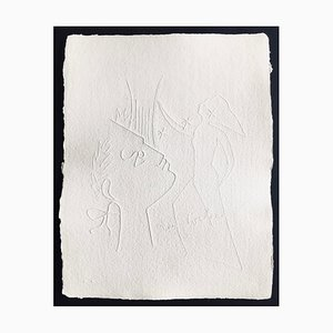 Jean Cocteau (after) , Untitled Xix, 1960 , Signed Embossing