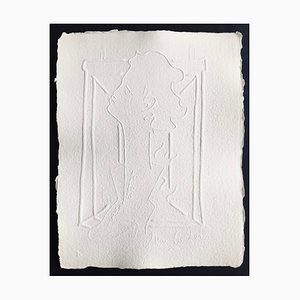 Jean Cocteau (nachher), Ohne Titel Xxiv, 1960, Signierte Prägung