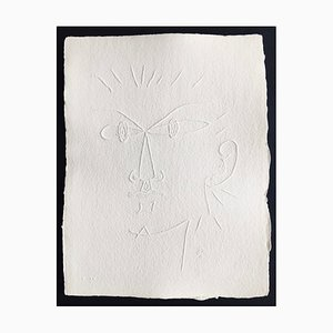 Jean Cocteau (nachher), Ohne Titel Xxvi, 1960, Signierte Prägung