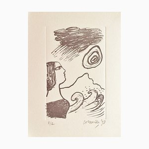Corneille , Always the Sea, 1998 , Original Signed Lithograph