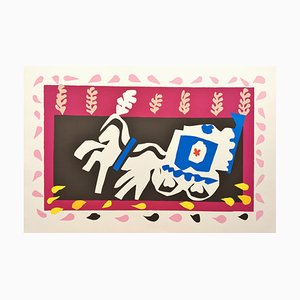 Henri Matisse (after) , the Burial of Pierrot, Lithograph