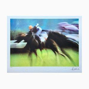 Bernard Bakalian , Gallop, Original Signed Lithograph