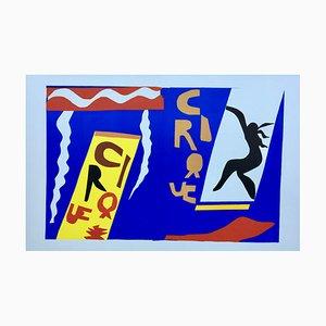 Lithographie de Henri Matisse (après), the Circus, 1947